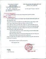Báo cáo tài chính công ty mẹ quý 2 năm 2012 - Công ty cổ phần Vận tải Sản phẩm khí quốc tế