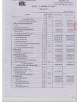 Báo cáo tài chính công ty mẹ quý 2 năm 2012 - Công ty Cổ phần Đầu tư và Thương mại DIC