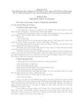 Báo cáo thường niên năm 2011 - Công ty Cổ phần Du lịch Đắk Lắk