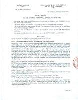 Nghị quyết Hội đồng Quản trị - Quỹ ETF VFMVN30