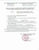 Báo cáo tài chính năm 2015 (đã kiểm toán) - Công ty Cổ phần Khoáng sản Becamex