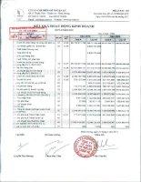 Báo cáo tài chính quý 4 năm 2010 - Công ty Cổ phần Chế biến Gỗ Thuận An
