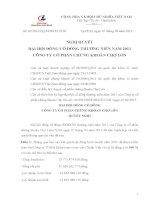 Nghị quyết Hội đồng Quản trị - Công ty Cổ phần Chứng Khoán Chợ Lớn