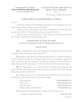 Nghị quyết đại hội cổ đông ngày 3-4-2010 - Công ty Cổ phần Bản đồ và Tranh ảnh Giáo dục