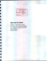 Báo cáo tài chính quý 2 năm 2014 (đã soát xét) - Công ty Cổ phần VICEM Vật liệu Xây dựng Đà Nẵng