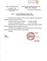 Báo cáo tài chính hợp nhất quý 2 năm 2014 - Công ty Cổ phần Địa ốc Đà Lạt