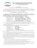 Nghị quyết đại hội cổ đông ngày 23-03-2009 - Công ty Cổ phần Lâm Nông sản Thực phẩm Yên Bái