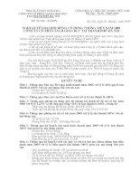 Nghị quyết đại hội cổ đông ngày 20-02-2009 - Công ty Cổ phần Sách Giáo dục tại Tp.Hà Nội
