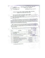 Nghị quyết đại hội cổ đông ngày 30-03-2010 - Công ty Cổ phần Lương thực Đà Nẵng