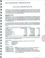 Báo cáo tài chính hợp nhất năm 2012 (đã kiểm toán) - Công ty Cổ phần Sản xuất Thương mại May Sài Gòn