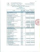 Báo cáo tài chính quý 4 năm 2014 - Công ty Cổ phần Chế biến Gỗ Thuận An