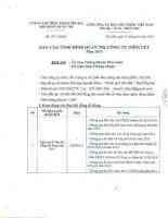 Báo cáo tình hình quản trị công ty - Công ty Cổ phần Lâm Nông sản Thực phẩm Yên Bái