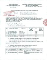 Báo cáo tình hình quản trị công ty - Công ty Cổ phần Xuất nhập khẩu Lâm Thủy sản Bến Tre