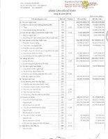 Báo cáo tài chính quý 4 năm 2014 - Công ty Cổ phần 482