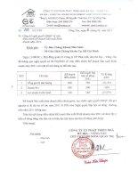 Nghị quyết Hội đồng Quản trị ngày 11-08-2011 - Công ty Cổ phần Phát triển nhà Bà Rịa-Vũng Tàu