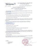 Nghị quyết Hội đồng Quản trị ngày 03-10-2011 - Công ty Cổ phần Bóng đèn Điện Quang
