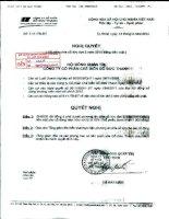 Nghị quyết Hội đồng Quản trị ngày 18-4-2011 - Công ty Cổ phần Chế biến Gỗ Đức Thành