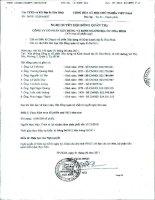 Nghị quyết Hội đồng Quản trị ngày 1-6-2011 - Công ty cổ phần Xây dựng và Kinh doanh Địa ốc Hoà Bình
