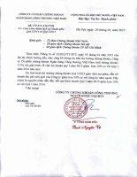 Báo cáo tài chính quý 1 năm 2015 - Công ty cổ phần Chứng khoán Ngân hàng Công thương Việt Nam