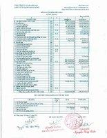 Báo cáo tài chính quý 3 năm 2014 - Công ty Cổ phần VICEM Vật liệu Xây dựng Đà Nẵng