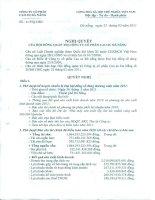 Nghị quyết Hội đồng Quản trị ngày 22-2-2011 - Công ty Cổ phần Cao su Đà Nẵng