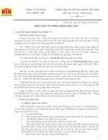 Báo cáo thường niên năm 2014 - Công ty Cổ phần DIC - Đồng Tiến