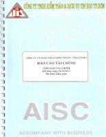 Báo cáo tài chính năm 2013 (đã kiểm toán) - Công ty cổ phần Than miền Trung - Vinacomin