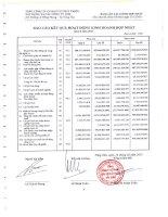 Báo cáo KQKD hợp nhất quý 4 năm 2011 - Tổng Công ty Cổ phần Đầu tư Phát triển Xây dựng