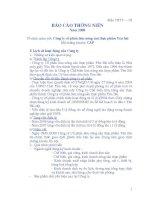 Báo cáo thường niên năm 2008 - Công ty Cổ phần Lâm Nông sản Thực phẩm Yên Bái