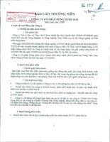 Báo cáo thường niên năm 2009 - Công ty Cổ phần Nông dược H.A.I