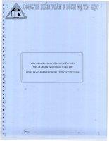 Báo cáo tài chính năm 2007 (đã kiểm toán) - Công ty Cổ phần Xây dựng Cotec
