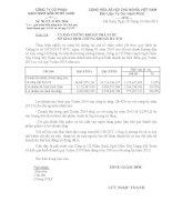 Báo cáo tài chính quý 3 năm 2014 - Công ty cổ phần Gạch Ngói Gốm Xây dựng Mỹ Xuân