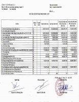 Báo cáo tài chính quý 3 năm 2012 - Công ty Cổ phần Địa ốc 11