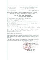 Nghị quyết Đại hội cổ đông thường niên - Quỹ ETF VFMVN30