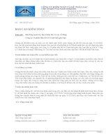 Báo cáo tài chính năm 2009 (đã kiểm toán) - Công ty Cổ phần Bản đồ và Tranh ảnh Giáo dục