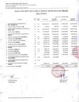 Báo cáo KQKD quý 2 năm 2013 - Công ty Cổ phần Gạch men Chang Yih