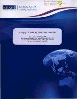 Báo cáo tài chính hợp nhất quý 2 năm 2013 (đã soát xét) - Công ty cổ phần Kỹ thuật điện Toàn Cầu