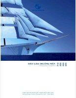 Báo cáo thường niên năm 2006 - Ngân hàng Thương mại Cổ phần Xuất nhập khẩu Việt Nam
