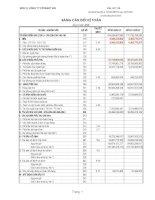 Báo cáo tài chính quý 2 năm 2009 - Công ty Cổ phần Xây dựng và Đầu tư 492