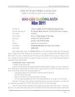 Báo cáo thường niên năm 2011 - Công ty Cổ phần VICEM Vật liệu Xây dựng Đà Nẵng