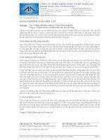 Báo cáo tài chính năm 2015 (đã kiểm toán) - Công ty Cổ phần Đầu tư và Phát triển Giáo dục Đà Nẵng