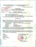 Nghị quyết Hội đồng Quản trị - Công ty Cổ phần VICEM Vật liệu Xây dựng Đà Nẵng