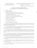 Báo cáo thường niên năm 2014 - Công ty Cổ phần Lương thực Đà Nẵng
