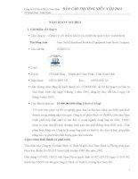 Báo cáo thường niên năm 2013 - Công ty Cổ phần Sách và Thiết bị giáo dục Nam Định