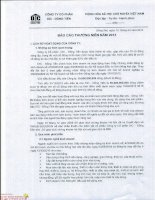 Báo cáo thường niên năm 2013 - Công ty Cổ phần DIC - Đồng Tiến