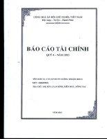 Báo cáo tài chính công ty mẹ quý 4 năm 2013 - Công ty Cổ phần Đầu tư Phát triển Cường Thuận IDICO