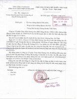 Nghị quyết Hội đồng Quản trị - Công ty cổ phần Thủy điện Hương Sơn