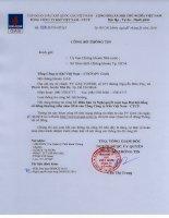 Nghị quyết Đại hội cổ đông thường niên - Tổng Công ty Khí Việt Nam-CTCP