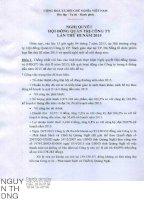 Nghị quyết Hội đồng Quản trị - Công ty Cổ phần Sách Giáo dục tại Tp. Đà Nẵng