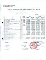 Báo cáo tài chính hợp nhất quý 2 năm 2012 - Công ty Cổ phần Sản xuất Thương mại May Sài Gòn